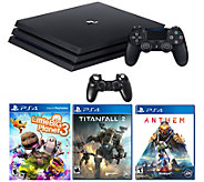 PS4 Pro 1TB Console - Anthem, Little Big Planet3, Titanfall 2 - E299904