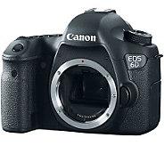 Canon EOS 6D 20.2MP DSLR Camera Body Only - E271905