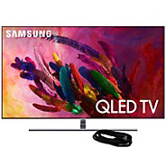 Samsung 55 Class Q7FN QLED Ultra HDTV & HDMICable - E294705