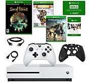 Xbox One S 1TB Console with Sea of Thieves, Titanfall 2 & More - E295205