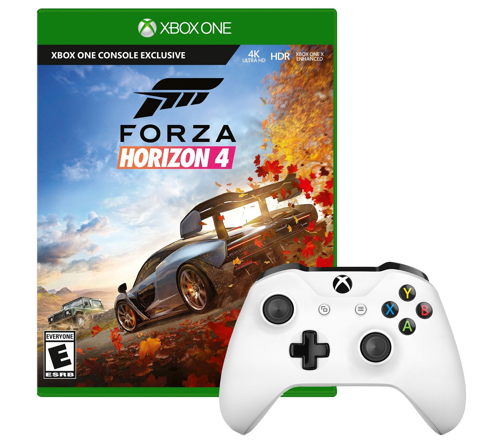 Forza Horizon 4 Game with Xbox One Controller — QVC com