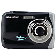 Bell and Howell 12-Megapixel Splash WaterproofDigital Camera - E296405