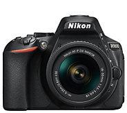 Nikon D5600 24.2MP DSLR Camera with 18-55mm Lens - E295406