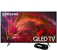 Samsung 55 Class Q8FN QLED Ultra HDTV & HDMICable - E294707