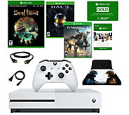 Xbox One S 1TB Console with Sea of Thieves, Halo, Titanfall 2 - E295207