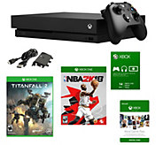 Xbox One X 1TB Console with NBA 2K18, Titanfall2 & More - E295209