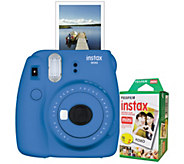 FujiFilm Instax Mini 9 with 10-Pack Film - E296409