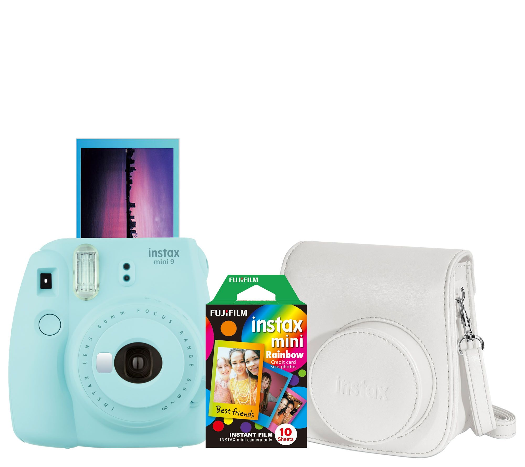 Fujifilm Instax Mini 9 Instant Film Camera with Film and Case - Page 1 — QVC.com