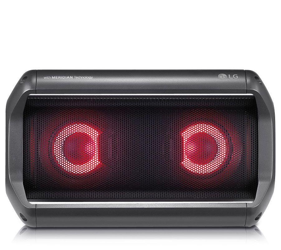 LG PK5 Portable Bluetooth Speaker with MeridianTechnology — QVC com