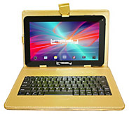 LINSAY 10.1 16GB Tablet with Leather Case andKeyboard - E296711