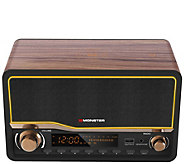 Monster Decora Bluetooth Clock Radio LifestyleSpeaker System - E296911