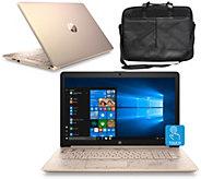 HP 17 Touch Laptop Intel i3 8GB RAM 1TB HDD w/ Software & Bag - E232512
