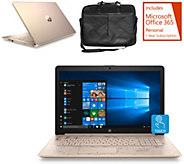 HP 17 Touch Laptop Intel i3 8GB RAM 1TB HDD w/ Office & Bag - E232513