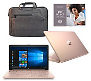 HP 15 Touch Laptop AMD A9 8GB RAM 2TB HDD with Office 365 & Laptop Bag - E232713