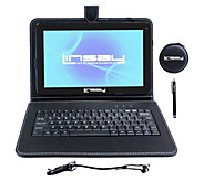 LINSAY 10.1 16 GB Android Tablet with Keyboard& Accessories - E296713