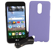 Tracfone LG Rebel 2 5 Smartphone with Case and 1500 Min/Text/Data - E231414