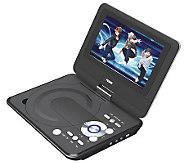 Naxa 9 TFT LCD Swivel Screen Portable DVDPlayer - E272314