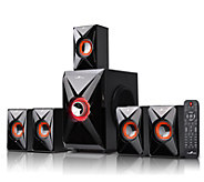 beFree BFS-420 5.1 Surround Sound Bluetooth Speaker System - E287814