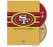 NFL History of the San Francisco 49ers 2-Disc DVD Set - E290415