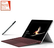 2018 Microsoft Surface Go Intel 128GB SSD w/ Keyboard, Pen, and Office - E232617
