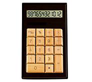 Impecca Bamboo Calculator - E276118