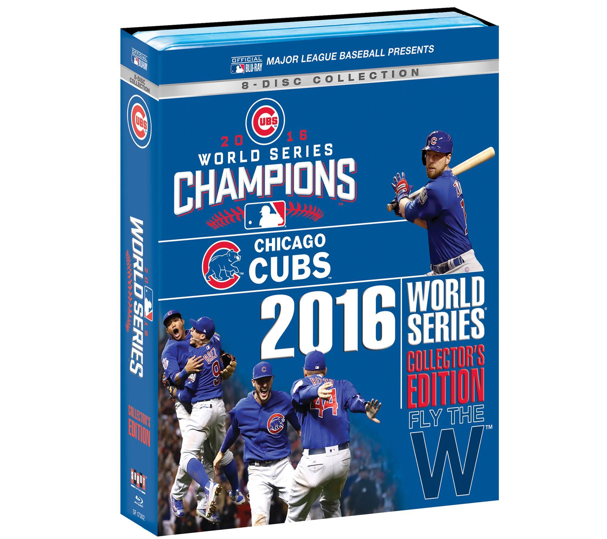 edb15ef2337 Chicago Cubs 2016 World Series Blu-ray DVD Collectors Set — QVC.com