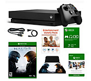 Xbox One X 1TB with HALO 5, Game Pass & HALOStand - E292818
