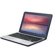 ASUS 11.6 C202 Chromebook - Celeron, 4GB RAM,16GB eMMC - E290619