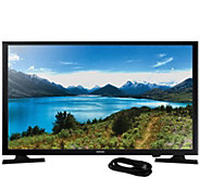 Samsung 32 LED 720p HDTV and 6 HDMI Cable - E291519