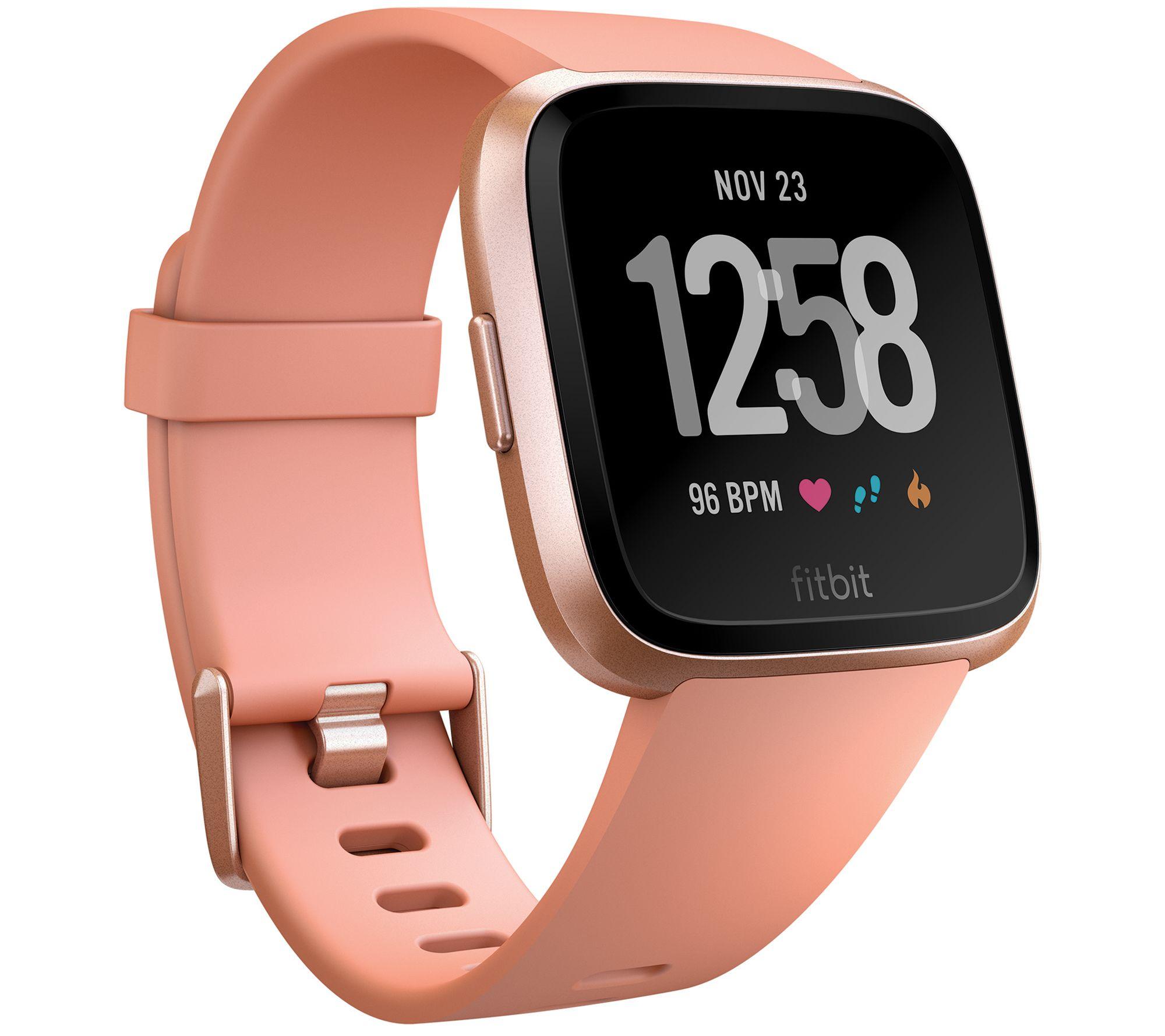 Fitbit Versa Smartwatch — QVC com