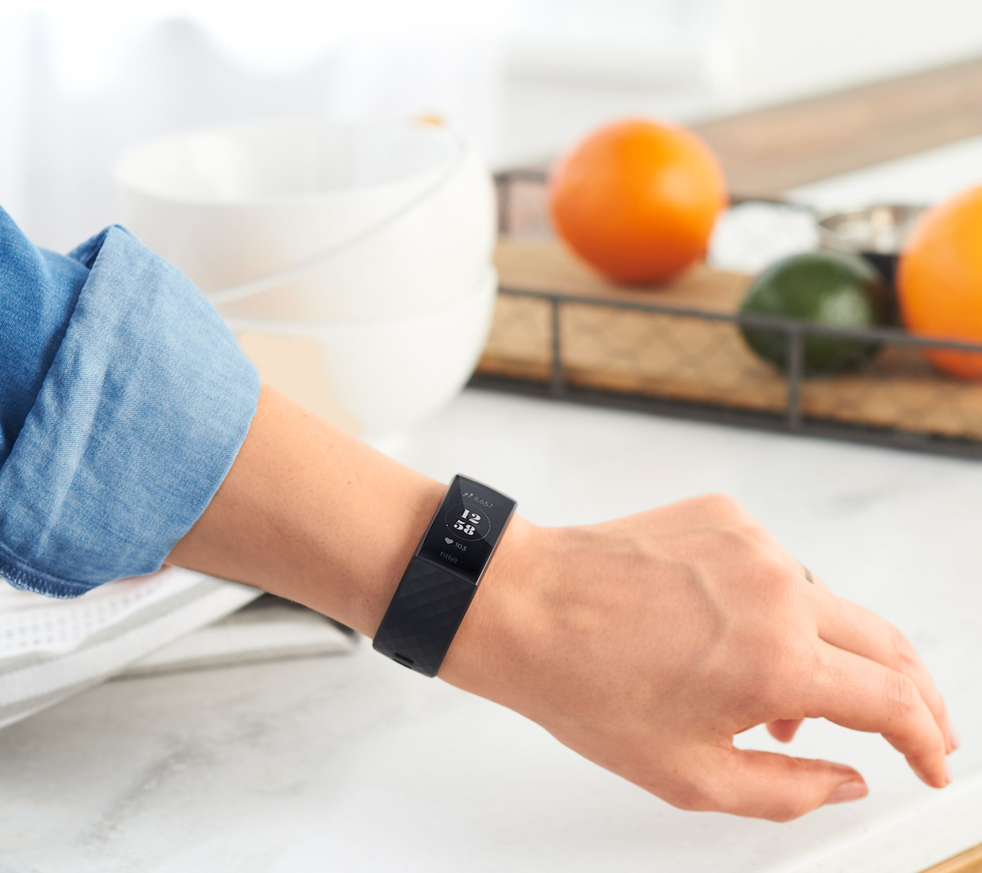 Fitbit Charge 3 Activity Tracker with Heart Rate — QVC com