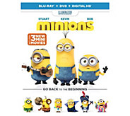 Minions Blu-Ray, DVD, and Digital HD - E286121