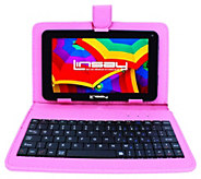 LINSAY 7 HD 8GB Tablet with Leather Case &Keyboard - E296721