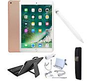 Apple 2018 iPad 9.7 128GB Wi-Fi with Apple Pencil & Acc - E298721