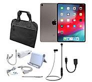 All-New Apple iPad Pro 11 64GB Wi-Fi Tablet w/ Case & Accessories - E232722