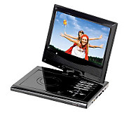 SuperSonic SC-178 7 Portable DVD Player with Swivel Display - E253322