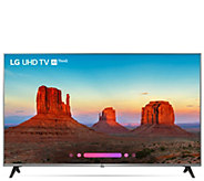 LG 55 UK7700 4K HDR Smart LED UHD TV with LG AI ThinQ - E232223