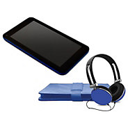 Ematic 10 Tablet with Folio Case and Headphones - E294223