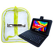 LINSAY 7 Tablet 8GB with Keyboard and Backpack - E296723