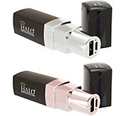 HALO Set of 2 Lipstick 3000 Portable Chargers - E231124