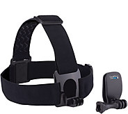 GoPro Head Strap and QuickClip - E290625