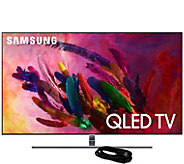 Samsung 65 Class QLED Q4K Ultra HDTV & HDMICable - E294725
