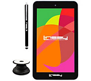 LINSAY 7 HD Quad Core Android Tablet with Stylus & Holder - E300025