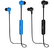 Magnavox Set of 2 Bluetooth Stereo Earbuds - E230526