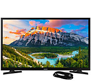 Samsung 32 Class LED 1080p Smart HDTV and 6HDMI Cable - E295426