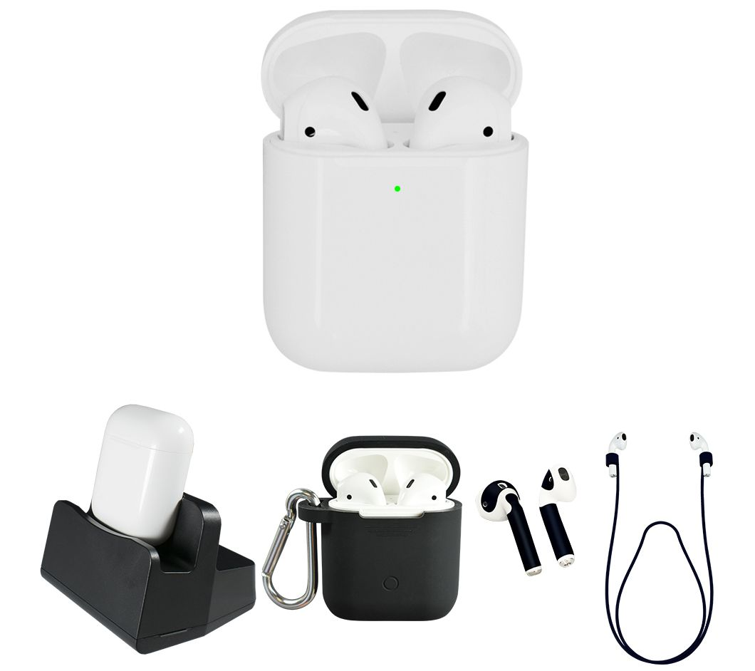 Apple Airpods 2nd Generation With Wirelesscharging Case Qvc Com