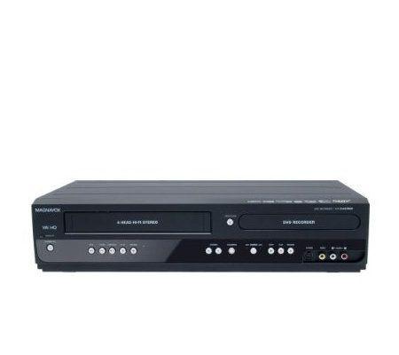 magnavox zv457mg9 dvd player recorder vcr combo page 1 qvc com rh qvc com