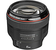 Canon EF 85mm f/1.2L II USM Telephoto AF Lens - E293827