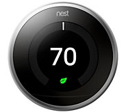 Nest Learning Thermostat 3rd Generation - E295227