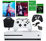 Xbox One S 1TB Console with Battlefield V and Hitman 2 - E298727